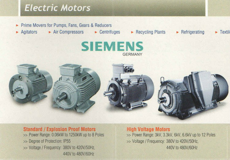 Siemens Electric Motor Johor Bahru Jb Single Phase And