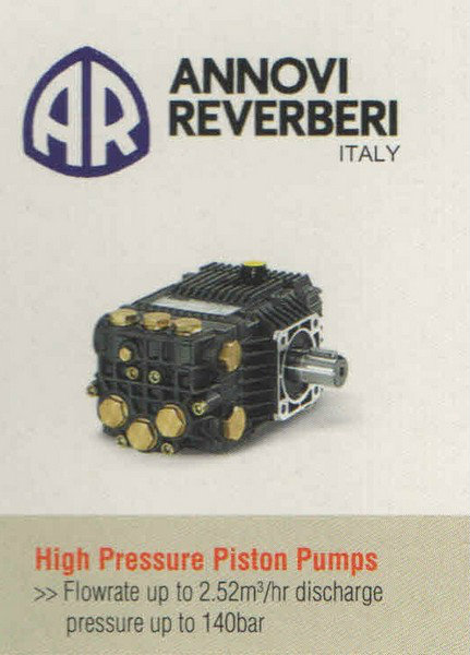 Annovi Reverberi High Pressure Piston Pumps