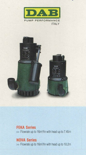 DAB Submersible Pump