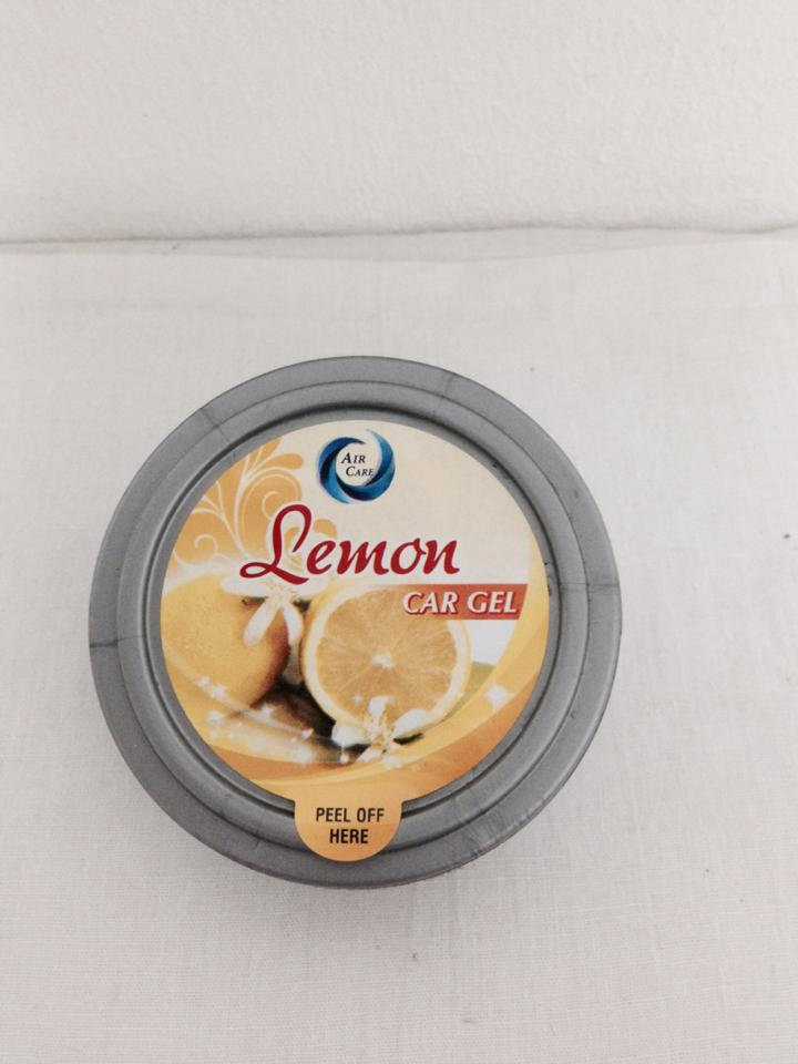 Air Care Car Gel Lemon 6862