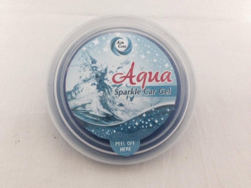 Air Care Sparkle Car Gel Aqua 3243