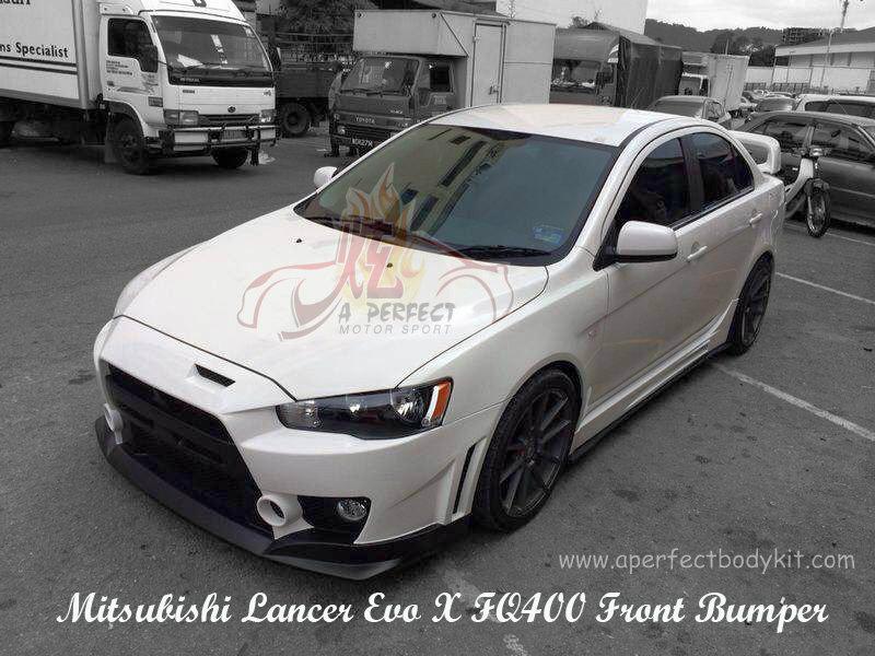 Mitsubishi Lancer Evo X Fq400 Front Bumper ★ Mitsubishi Lancer Ex Fq400 新山 Jb 马来西亚 车身改装 玻璃纤维纺织品