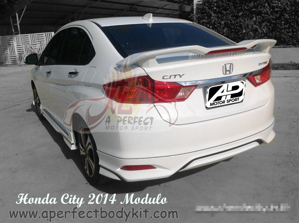 Honda City 2014 Modulo Rear Skirt Amp Rear Spoiler Honda