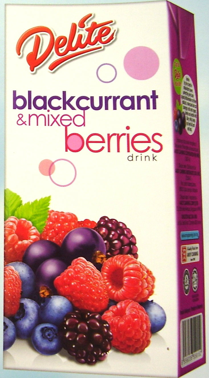 Delite Blackcurrant & Mix Berries