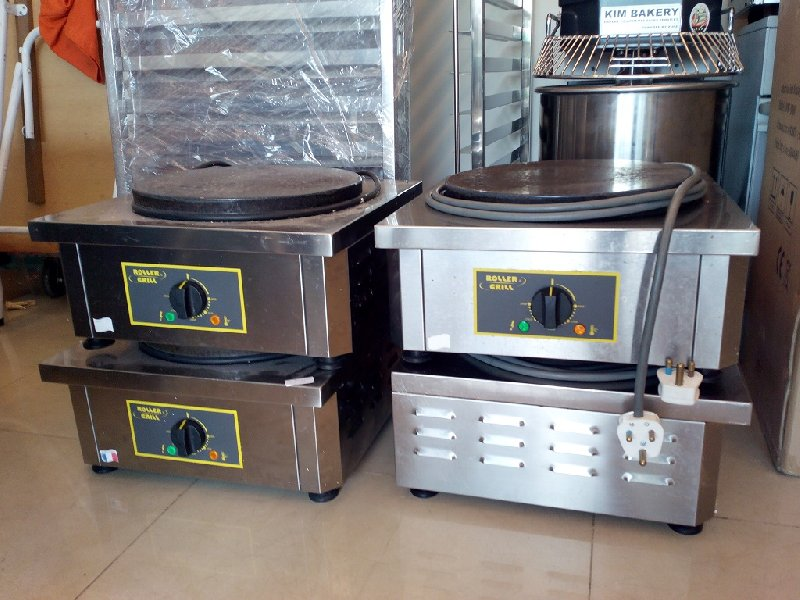 Used (Second Hand) Crepe Machine / Maker (Roller Grill)
