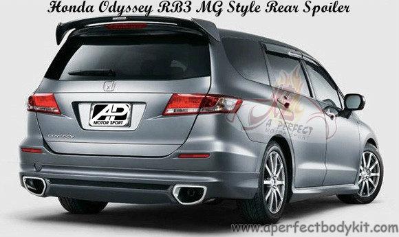 Honda Odyssey RB3 MG Style Rear Spoiler Honda Odyssey RB3 ...