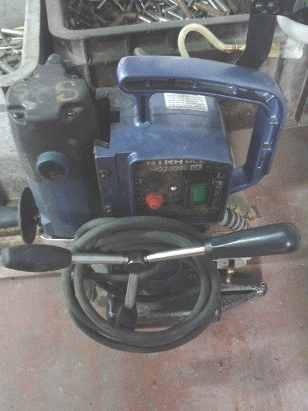 Nitto Kohki Magnetic Base Drilling Machince WOJ-3200
