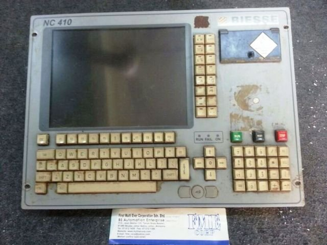 REPAIR BIESSE NC410 CONTROL KEYBOARD MONITOR MALAYSIA INDONESIA