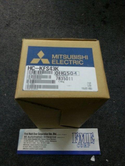MITSUBISHI AC SERVO MOTOR HC-KFS43K HC-KFS73K HC-KFS103K HC-KFS153K MALAYSIA SINGAPORE INDONESIA