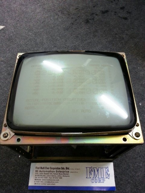 REPAIR FANUC TOSHIBA MONITOR DISPLAY A61L-0001-0092 MALAYSIA INDONESIA BRUNEI