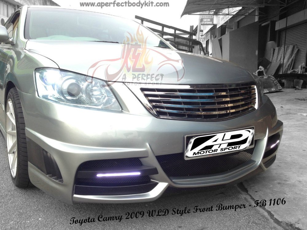Toyota Camry 2009 WLD Style Front Bumper
