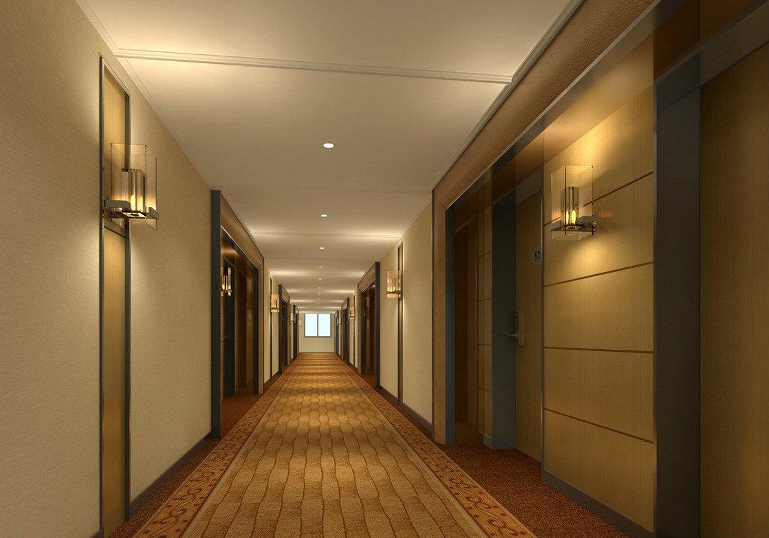 Design interiors hotels and restaurant design on pinterest for Hotel corridor decor