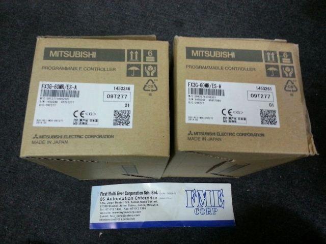 MITSUBISHI FX3G-60MR FX3G-40MR FX3G-24MR FX3U-14MR MALAYSIA SINGAPORE JAKARTA INDONESIA