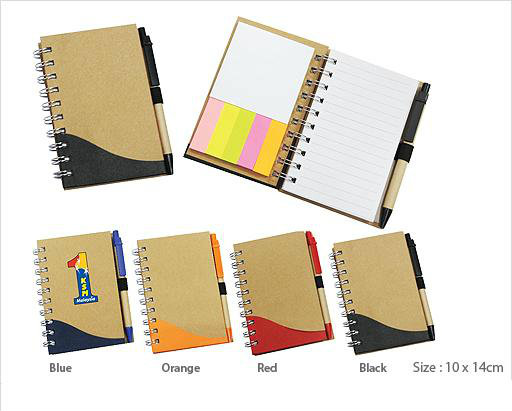 EFS07-10 Recycled Notepad