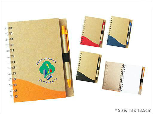 EFS07-11 Recycled Notepad