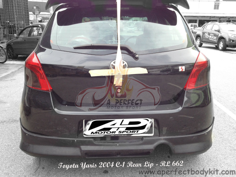 Toyota Yaris 2004 C 1 Rear Lip