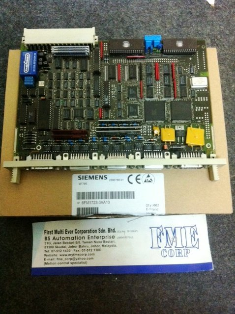 SIEMENS POSITIONING MODULE 6FM1-723-3AA10 MALAYSIA SINGAPORE INDONESIA