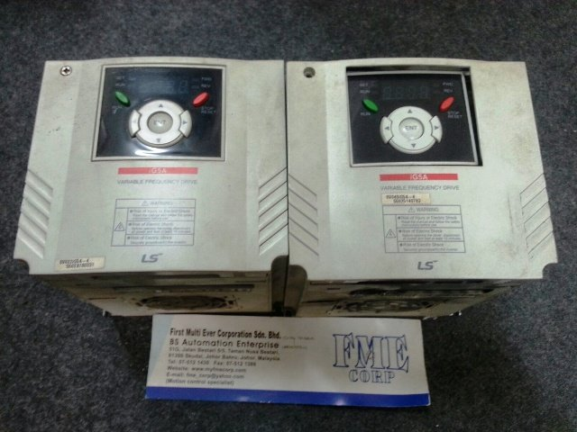 LS VARIABLE FREQUENCY DRIVE IG5A SV040IG5A-4 SV055IG5A-4 SV075IG5A-4 MALAYSIA SINGAPORE INDONESIA
