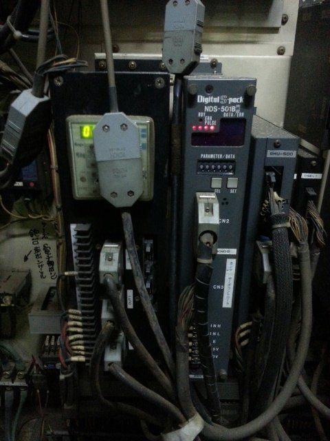 REPAIR NIKKI DENSO SERVO AMPLIFIER CONTROLLER DIGITAL S-PACK NDS-501BF MALAYSIA SINGAPORE INDONESIA