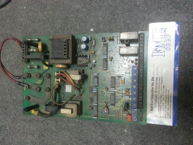 REPAIR EUROTHERM SSD DC DRIVE CONTROLLER MODEL NO 512/320/00 MALAYSIA SINGAPORE INDONESIA