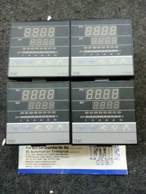 TAIE TEMPERATURE CONTROLLER FY900 FY901 FY800 FY801 FY700 FY701 FY600 FY400 FY401 MALAYSIA INDONESIA