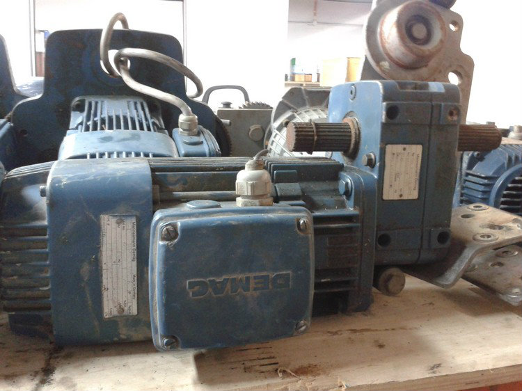 Second Hand Demag Hoist 1 ton, 2 ton, 4 ton