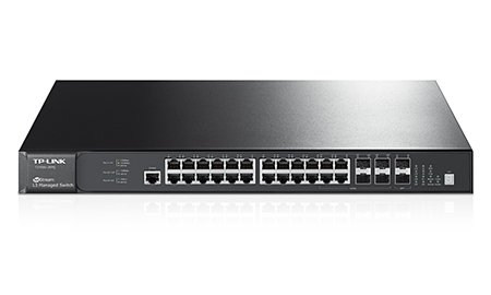 JetStream 28-Port Gigabit Stackable L3 Managed Switch