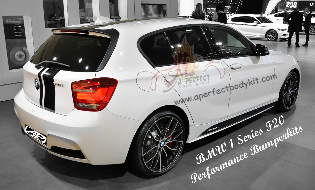 BMW 1 Series F20 Performance Bumperkits