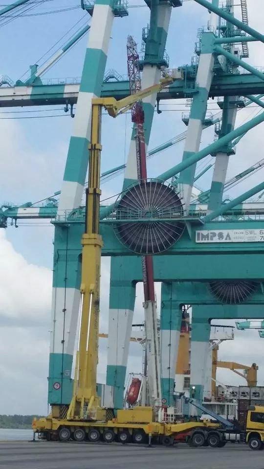 Mobile Crane Rental Malaysia : Mobile crane johor bahru jb sales rental services