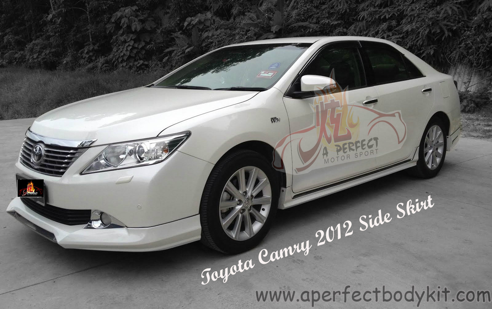 toyota camry 2012 japan style bodykits toyota camry 2012 johor bahru jb malaysia body kits a. Black Bedroom Furniture Sets. Home Design Ideas