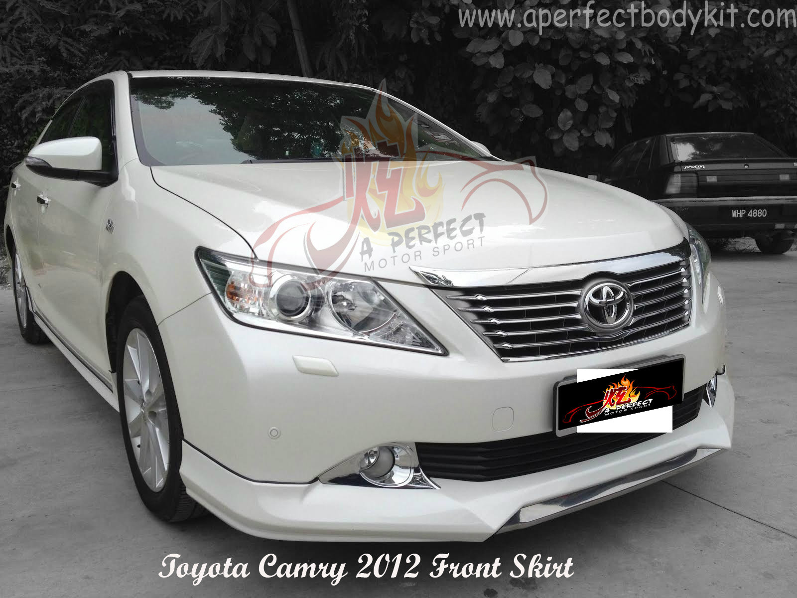 toyota camry 2012 japan style bodykits toyota camry 2012. Black Bedroom Furniture Sets. Home Design Ideas