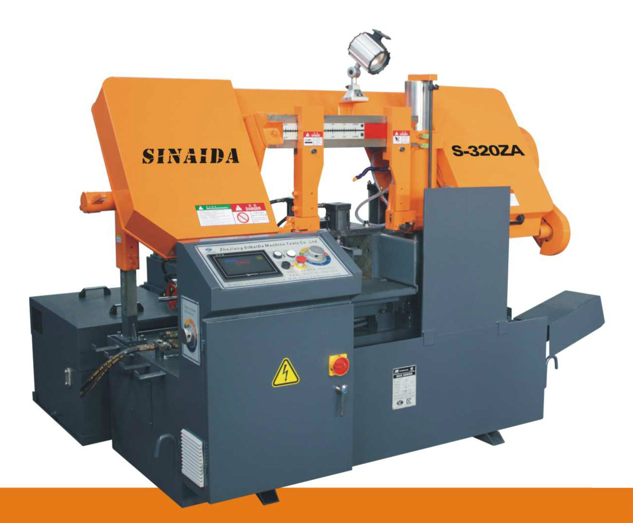NC High Efficiency Metal Cutting Bandsaw