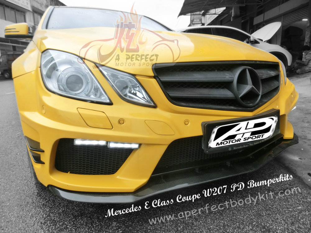 Mercedes E Class Coupe W207 PD Bumperkits Mercedes E Class