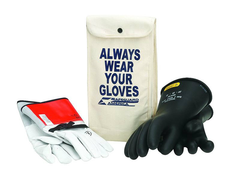 Rubber Insulated Glove kit Class 1
