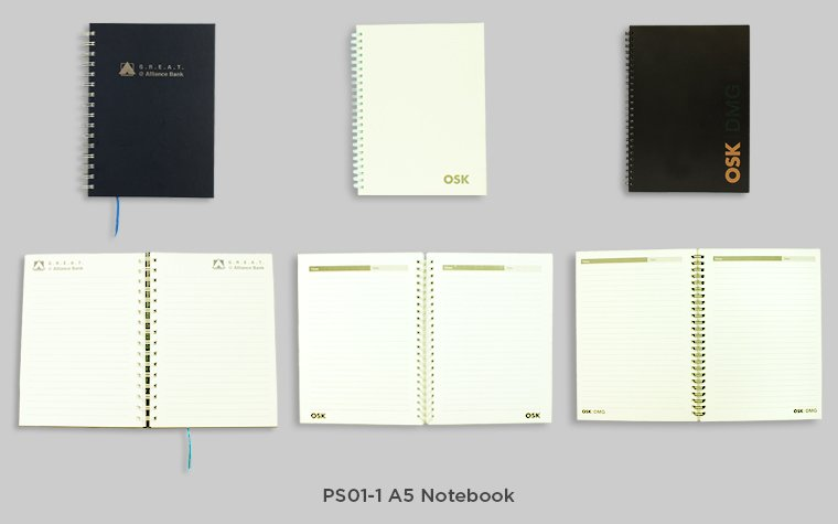 PS01-1 A5 Notebook