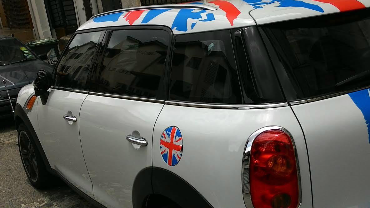 Car sticker design jb - Mini Car Sticker