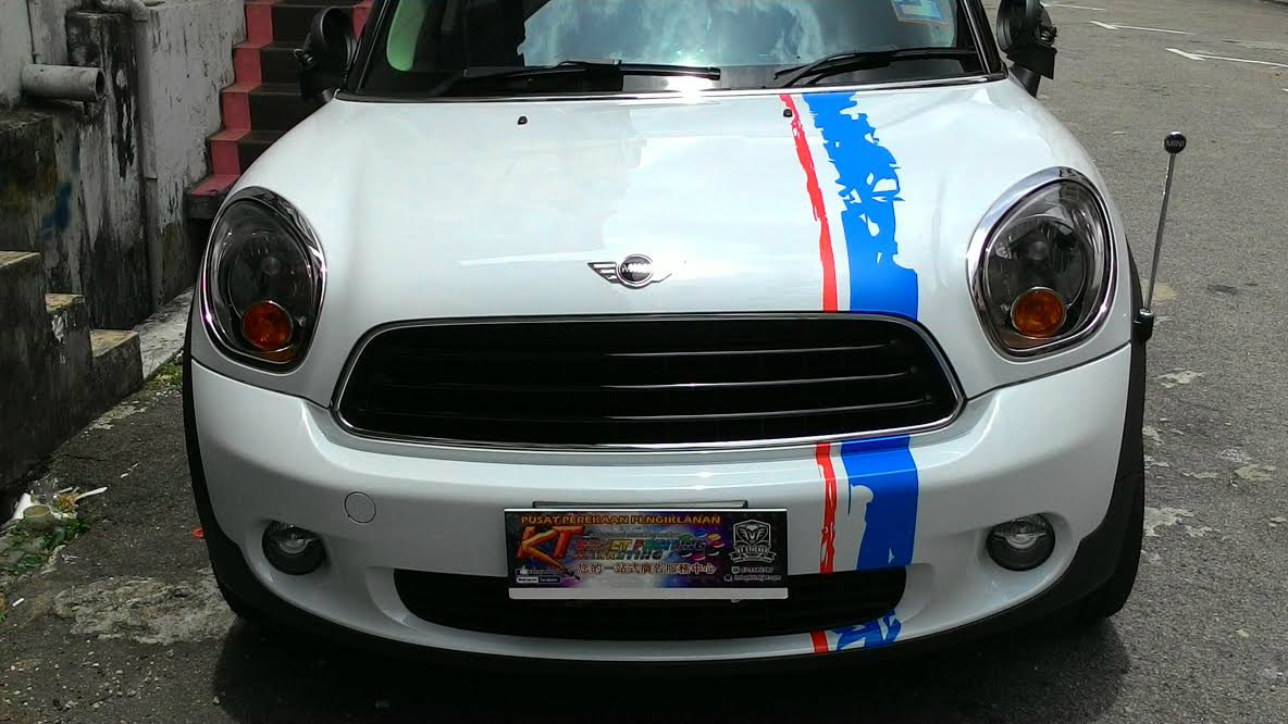Car cutting sticker design - Cutting Sticker Mini Cooper