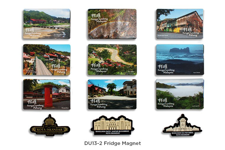 DU13-2 Fridge Magnet