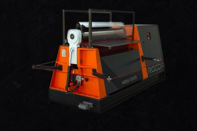 HR2W SERIES 2 ROLL PLATE BENDING MACHINE