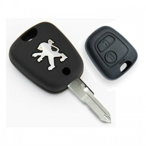 Peugeot 206 207 2 Button Remote Key