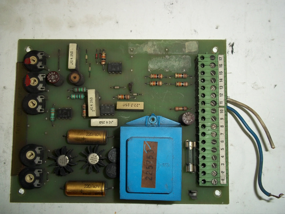 REPAIR PCB BOARD LENZE