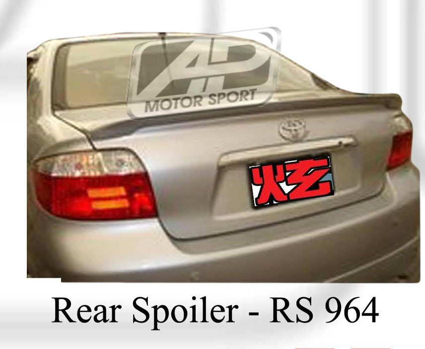 Toyota Vios 2004 Rear Boot Lip Spoiler