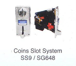 Coins Slot System SS9/ SG648