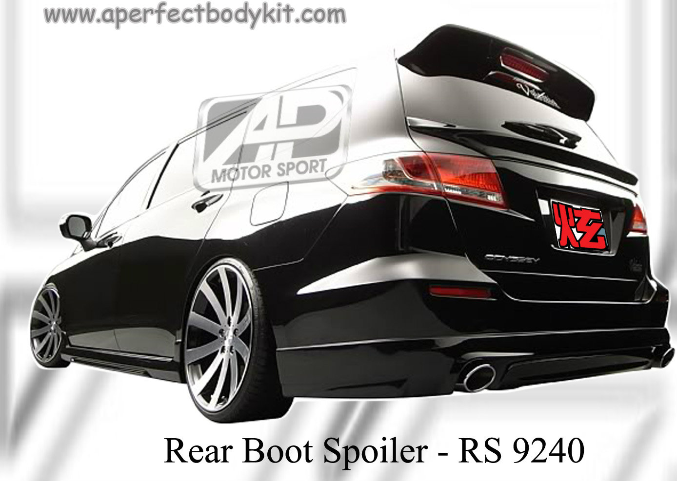 Honda Odyssey RB3 AM Style Rear Boot Spoiler