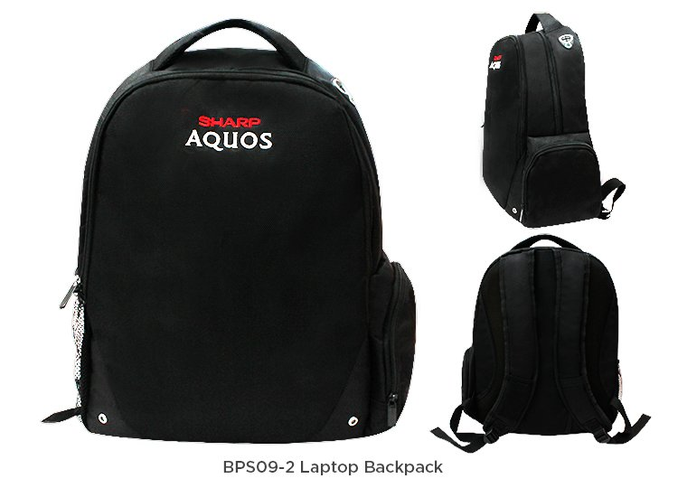 BPS09-2 Laptop Backpack
