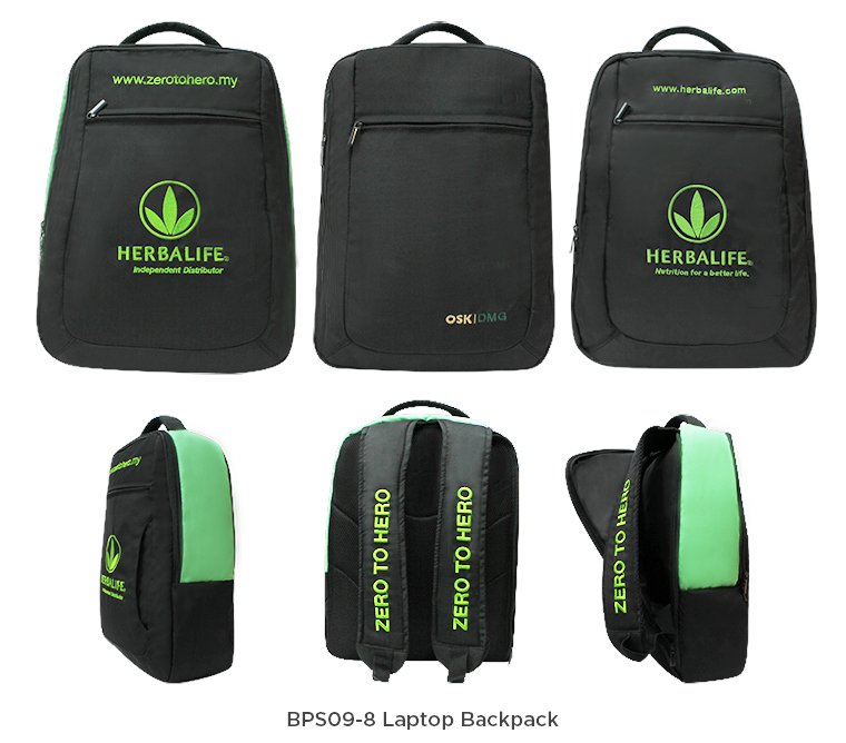 BPS09-8 Laptop Backpack