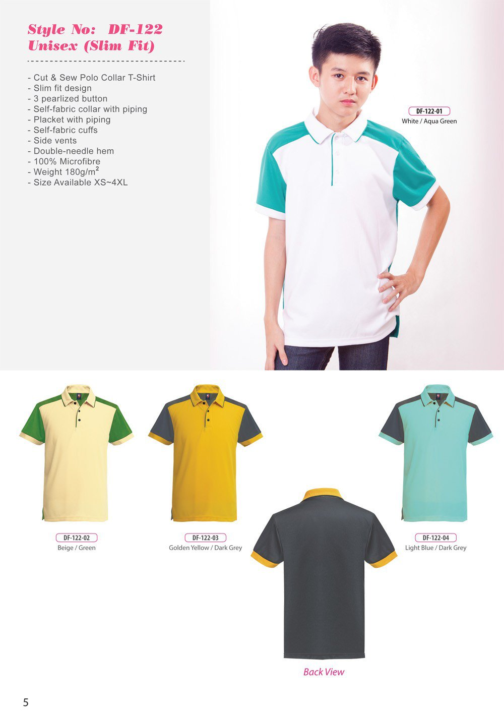 ID-DF 122 Unisex (Slim Fit) + Colors