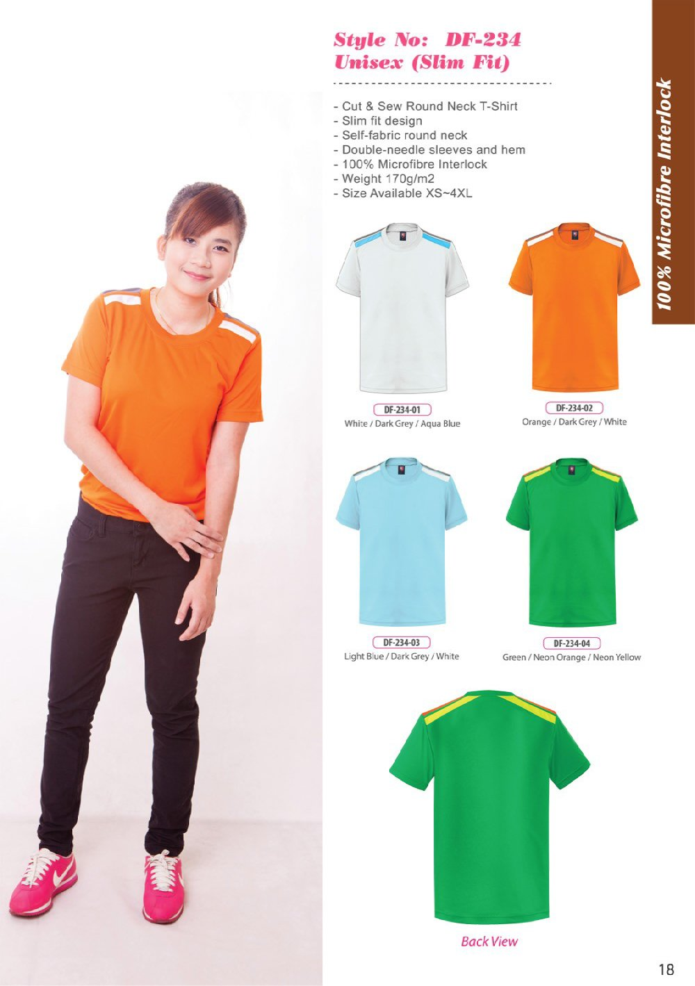 ID-DF 234 Unisex (Slim Fit) + Colors
