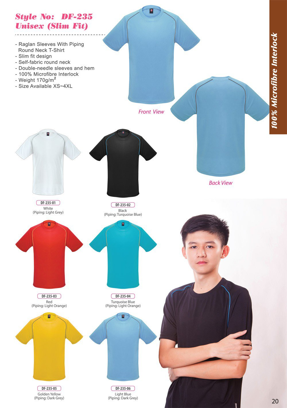 ID-DF 235 Unisex (Slim Fit) + Colors