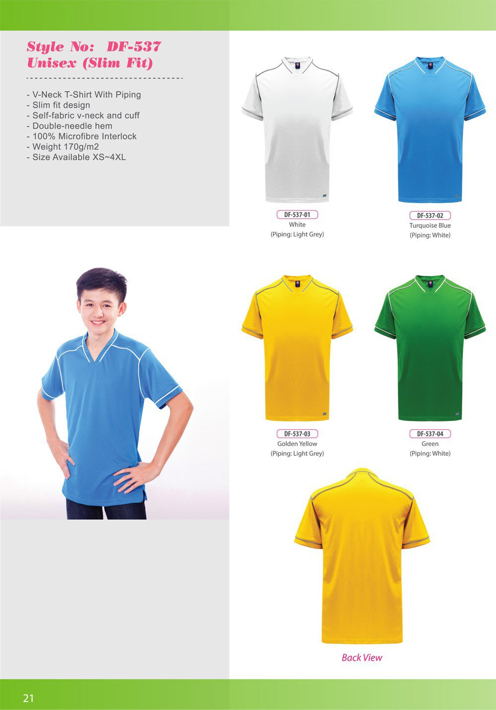 ID-DF 537 Unisex (Slim Fit) + Colors